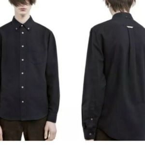 Acne Studios Men's Classic Fit Cotton Button Shirt